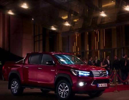 Toyota'nın reklam filmi 'Yeni Hilux' yurtdışına açılıyor