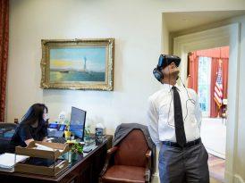 Barack Obama'yla sanal gerçeklik turu