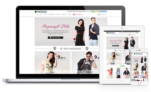 DeFacto ve eCommera'dan omni-channel satış deneyimi
