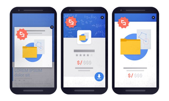 Google'dan mobil sitelere gözdağı