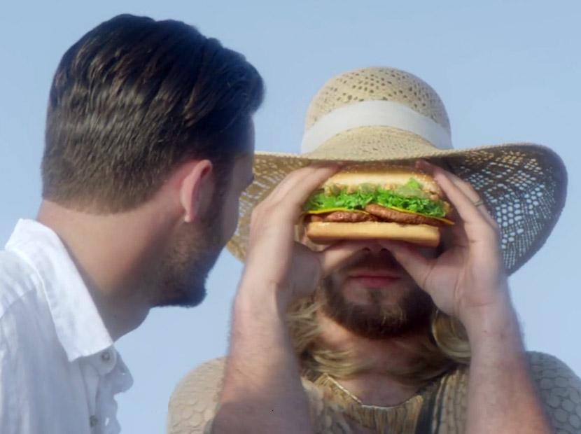 Bir ilham kaynağı olarak hamburger