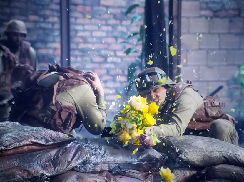 Silahlara karşı çiçekler
