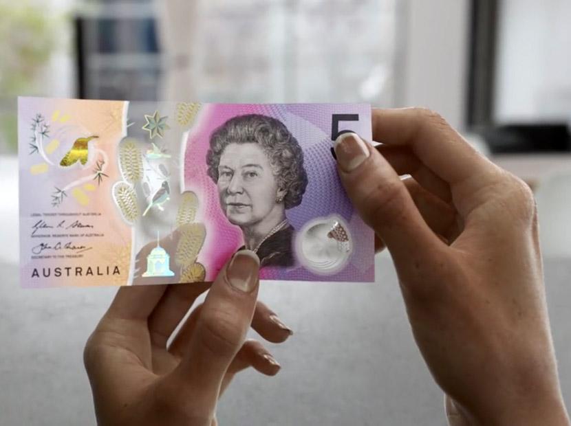 Avustralya'dan fütüristik banknotlar