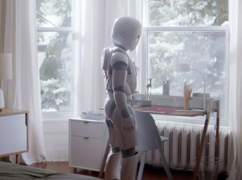 Zorluklara karşı robot azmi