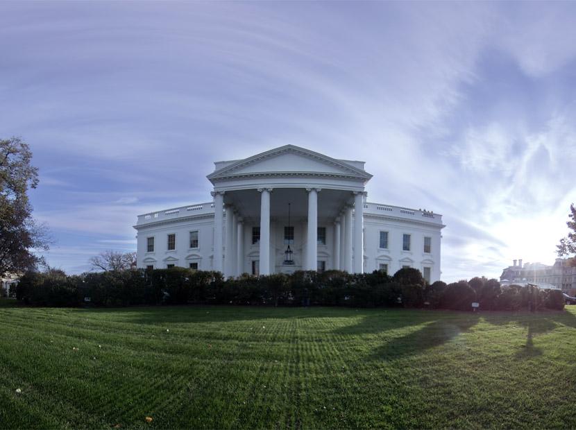 Obama'dan 360 derece Beyaz Saray turu