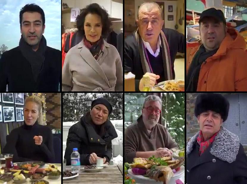 Ünlülerden Türkiye'ye çağrı: Hayatına sahip çık