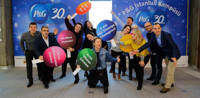 P&G Türkiye'ye yeni ofis, yeni felsefe