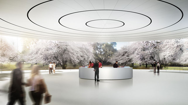 Apple'ın uzay gemisi Apple Park Nisan'da açılıyor