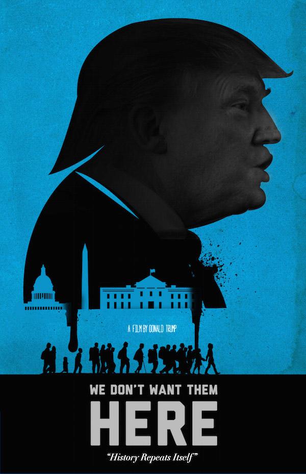 Başrolde Donald Trump