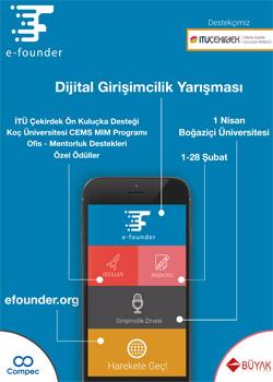 Boğaziçi Üniversitesi'nden internet girişimcilerine çağrı