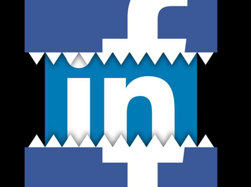 Facebook'tan LinkedIn'e nazire