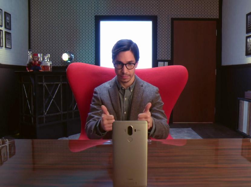 """Mac Guy"" Huawei'nin Android telefonu için ekranda"