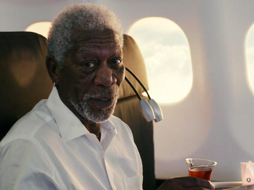 THY içinizdeki kâşife Morgan Freeman'larla sesleniyor