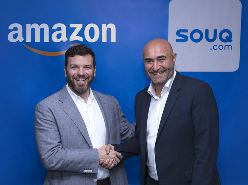 Amazon Souq.com'u satın aldı
