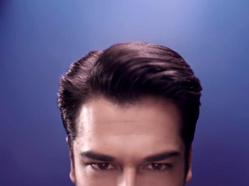 Clear'ın yeni reklam yüzü Burak Özçivit'in saçları