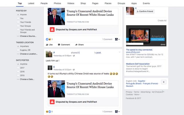 Facebook - yalan haber savaşında yeni cephe