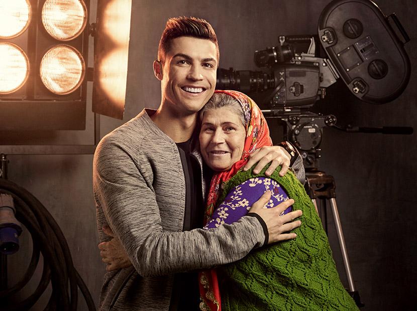 Ronaldo ve Ümmiye Teyze aynı filmde buluştu