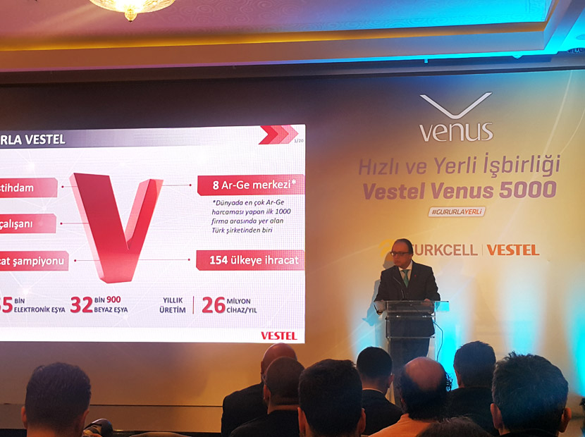 Turkcell ve Vestel yerli ve milli işbirliğine devam ediyor