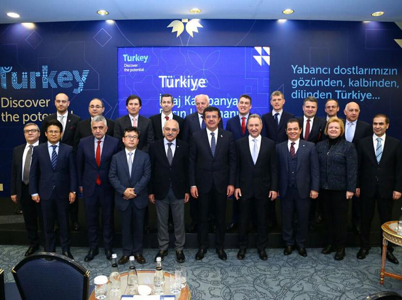 Türkiye'nin potansiyelini yabancı yöneticiler anlatıyor