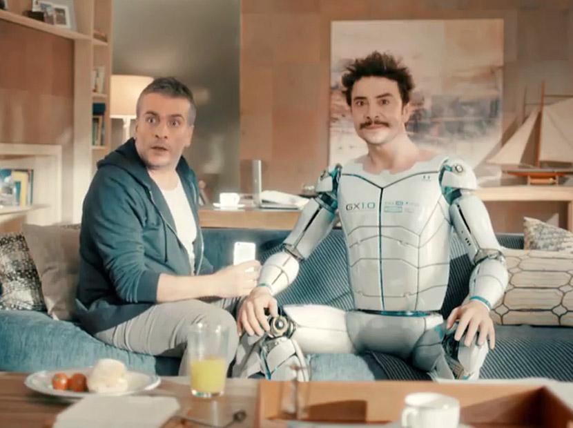Robot Gary ve Metin'in maceraları başladı