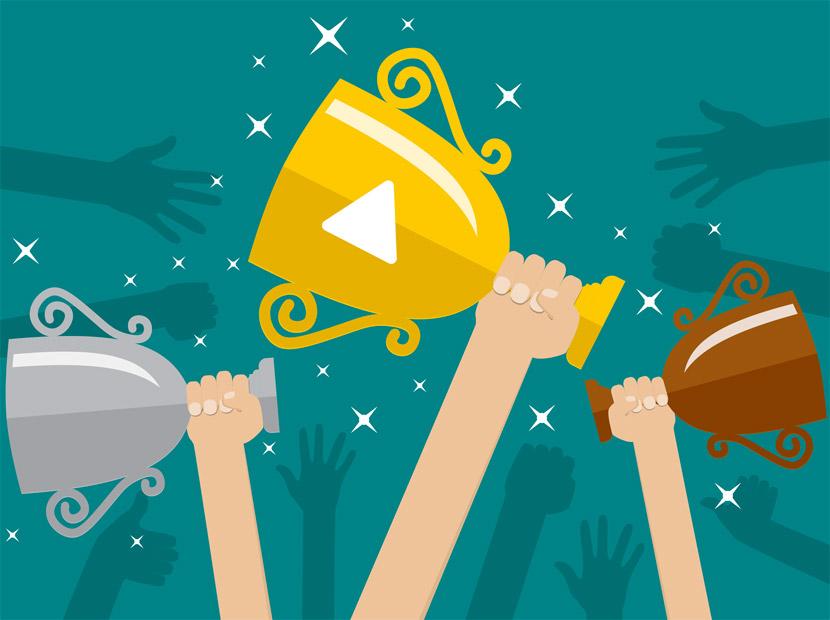 2016'nın video şampiyonları