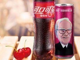 Cherry Coke ambalajlarında şaşırtan bir isim