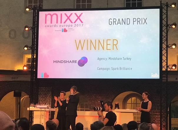 MIXX Avrupa 2017'den Türkiye'ye Grand Prix