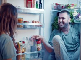 Buzdolabında davetsiz misafir
