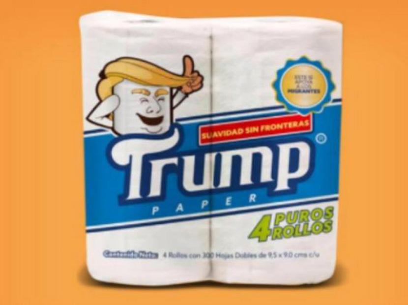 Bir tuvalet kağıdı markası olarak Trump