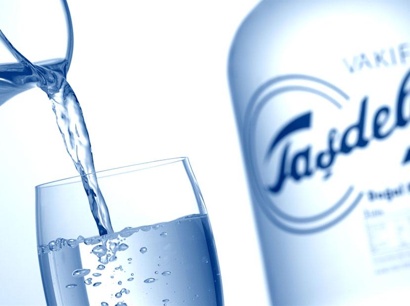 Camdan cama sağlığın markası… Vakıf Taşdelen Su