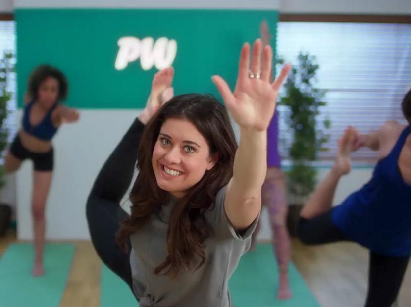 Deodorantların yoga seansı
