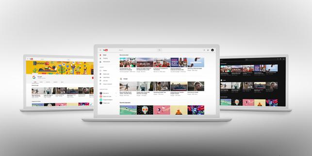 """YouTube'dan """"göz kamaştırmayan"""" yeni tasarım"""