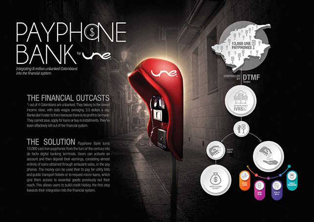 Cannes Lions Payphone Bank