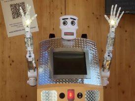 Tanrı robotu korusun ve kutsasın