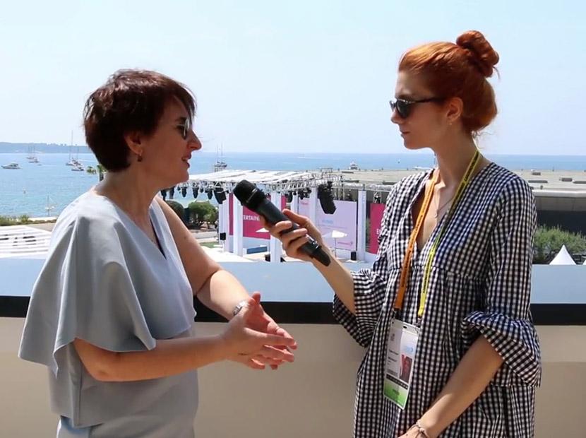 Arzu Ünal ile Cannes sohbeti