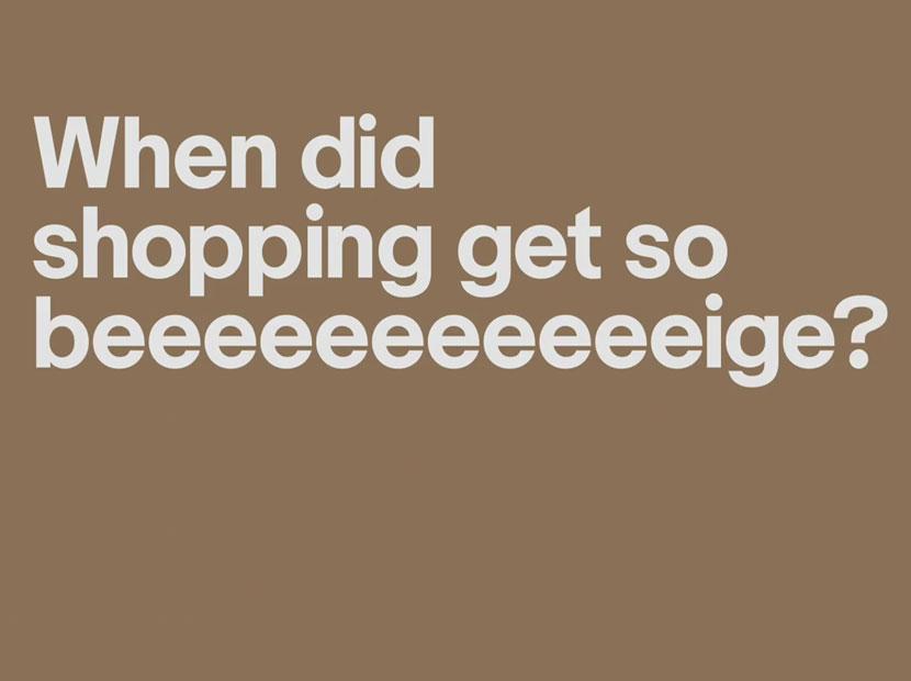 """Alışverişiniz fazla """"bej"""" kaldıysa"""