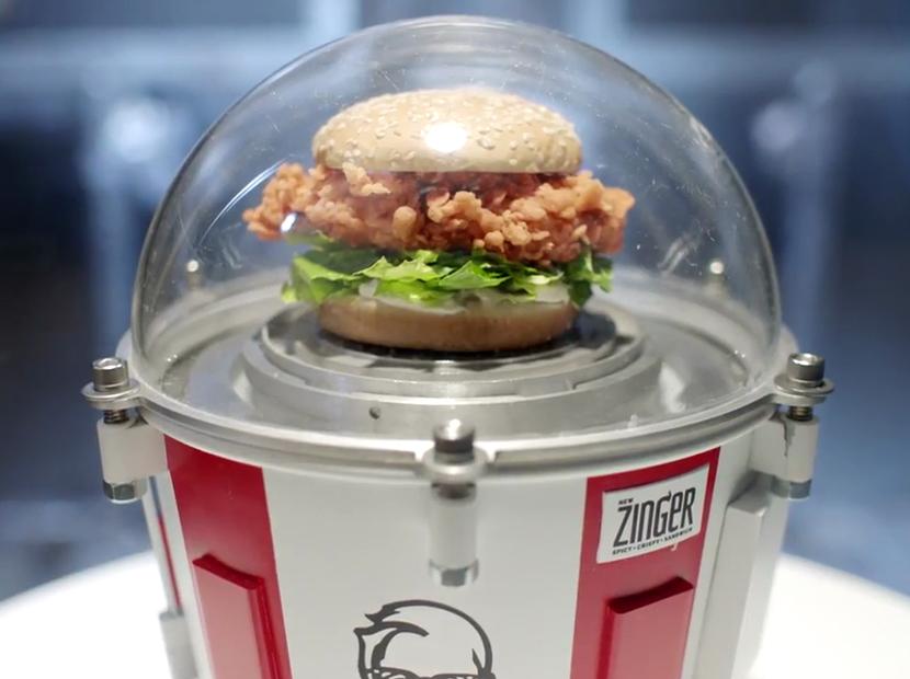 KFC uzaya sandviç gönderiyor