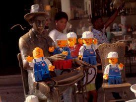 Şehirde Lego istilası