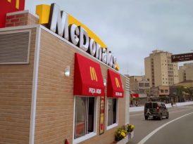 McDonald's yollarda!