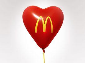 McDonald's Türkiye akrostişli ilan-i aşk