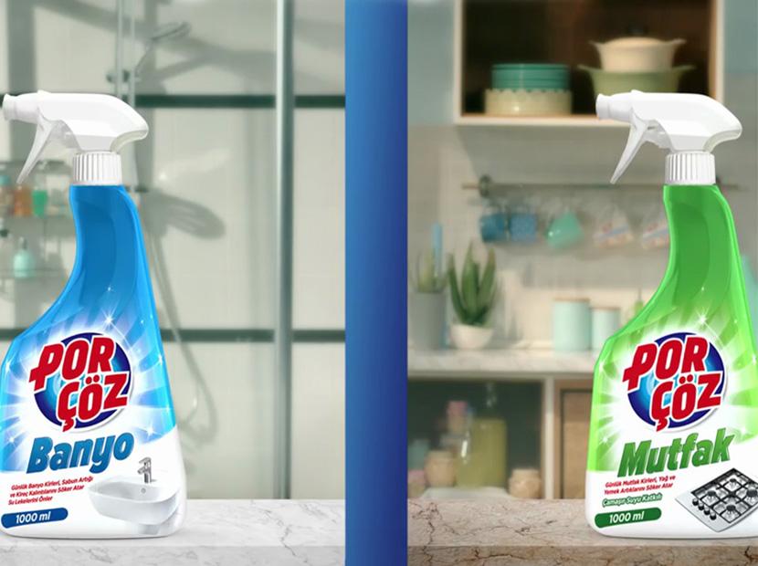 Çözüm hem mutfakta hem de banyoda
