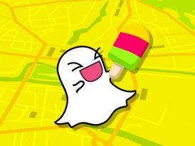Snapchat'ten yeni bir özellik: Snap Map
