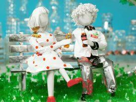 Coca-Cola'dan geri dönüştürülebilir bir aşk hikâyesi