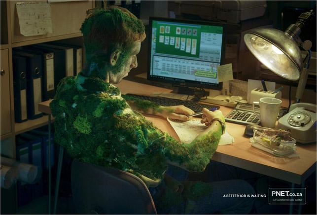 Aynı işte çalışmaktan yosun mu tuttunuz?