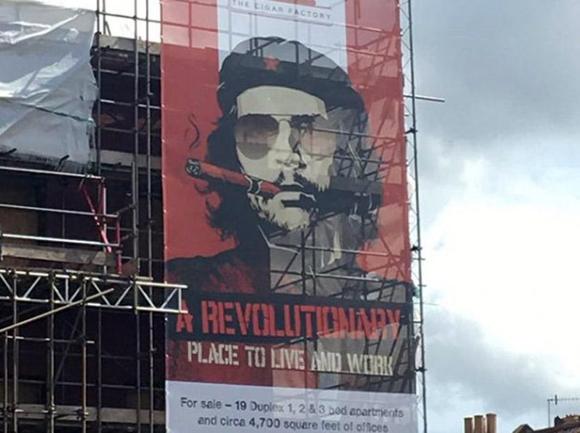 Emlakta Che Guevara devrimi