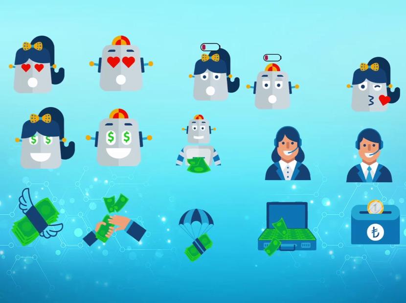 Bankacı Klavye'ye emoji takviyesi