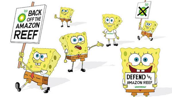 SpongeBob BP'ye karşı