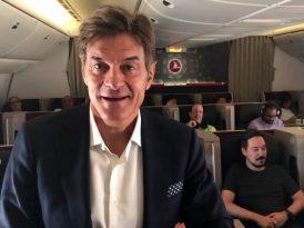 Dr. Oz, Türk Hava Yolları için yayında