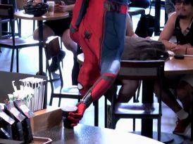 Sıradaki kahve Örümcek Adam'a gelsin