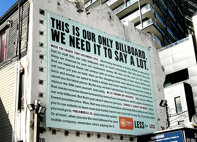 Public Mobile Billboard